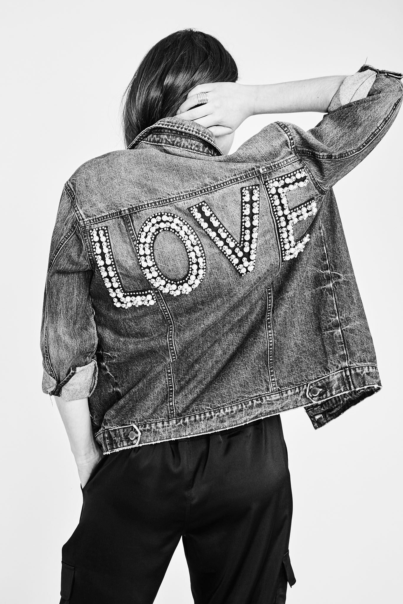 A look from Rachel Rachel Roy's Love capsule.