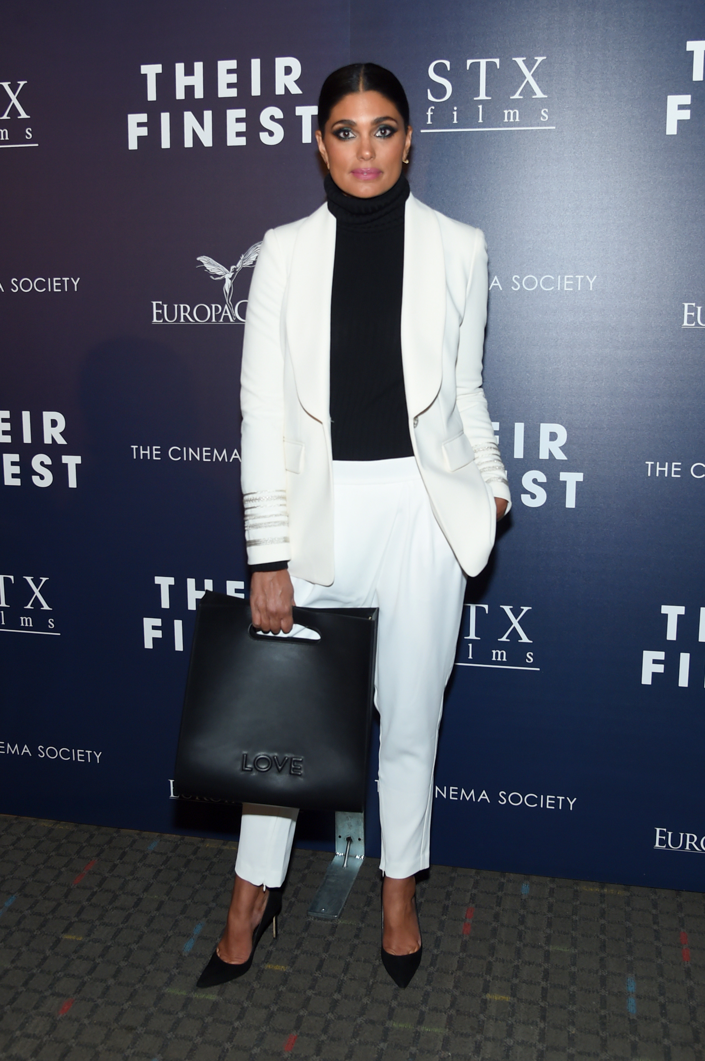 """NEW YORK, NY - MARCH 23: Fashion Designer Rachel Roy attends the Premiere of """"Their Finest"""" hosted by STXfilms and EuropaCorp with the Cinema Society at SVA Theatre on March 23, 2017 in New York City. (Photo by Jamie McCarthy/Getty Images)"""