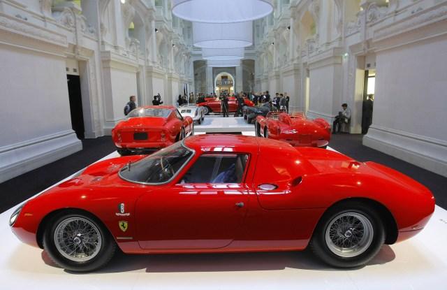 Ralph Lauren's 1964 Ferrari 250LM.