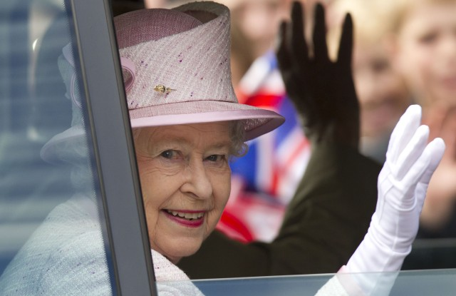 Queen Elizabeth IIThe Queen's Diamond Jubilee UK Tour, Hereford Cathedral, Britain - 11 Jul 2012