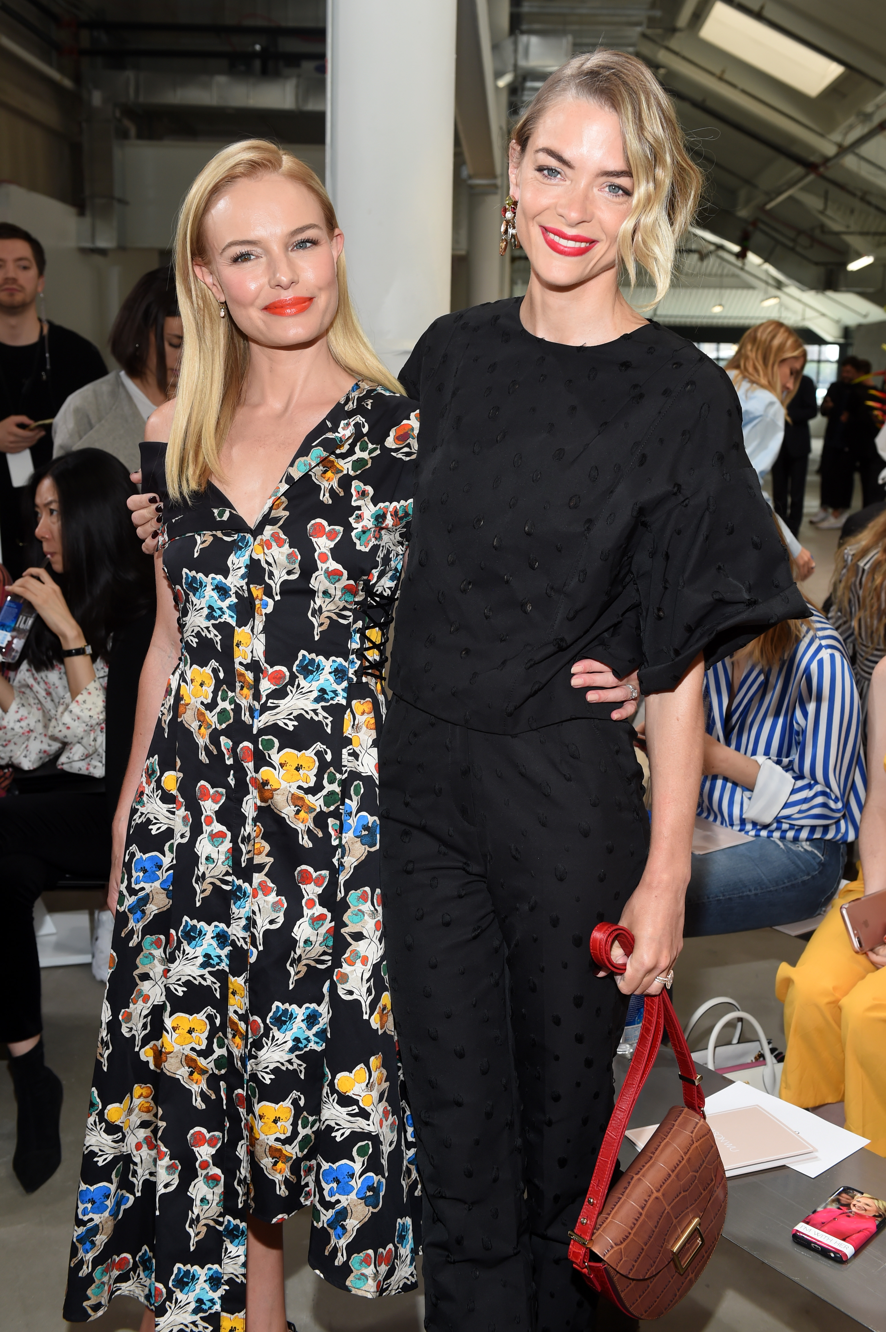 Kate Bosworth and Jaime King in the front rowJason Wu show, Front Row, Spring Summer 2018, New York Fashion Week, USA - 08 Sep 2017