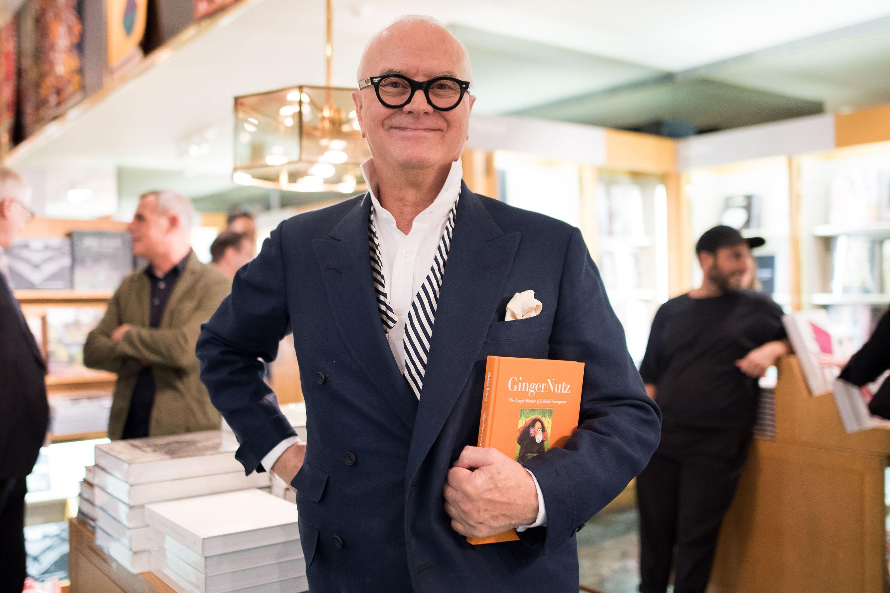 Manolo BlahnikGrace Coddington and Michael Roberts 'GingerNutz' book signing, The Met Store, New York, USA - 08 Sep 2017