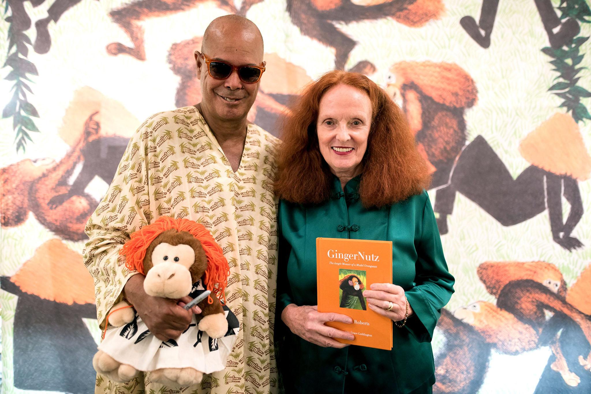 Michael Roberts, Grace CoddingtonGrace Coddington and Michael Roberts 'GingerNutz' book signing, The Met Store, New York, USA - 08 Sep 2017