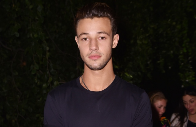 Cameron Dallas in the front rowCarolina Herrera show, Front Row, Spring Summer 2018, New York Fashion Week, USA - 11 Sep 2017