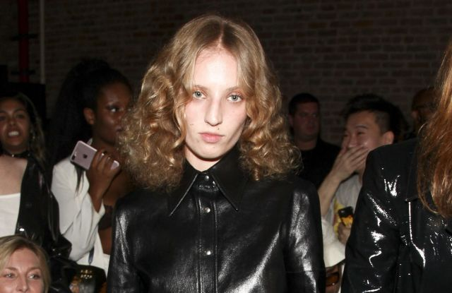 Petra Collins attends the NYFW Spring/Summer 2018 HELMUT LANG Seen By Shayne Oliver fashion show, in New YorkNYFW Spring/Summer 2018 - HELMUT LANG Seen By Shayne Oliver, New York, USA - 11 Sep 2017
