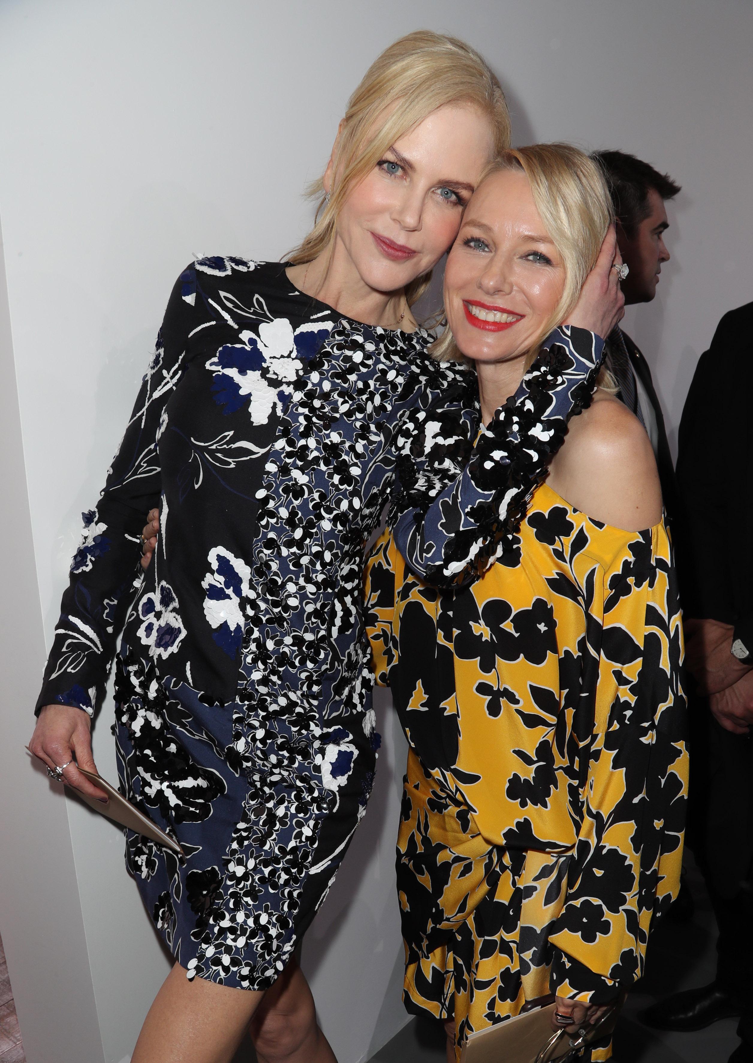 Nicole Kidman and Naomi WattsMichael Kors show, Front Row, Spring Summer 2018, New York Fashion Week, USA - 13 Sep 2017