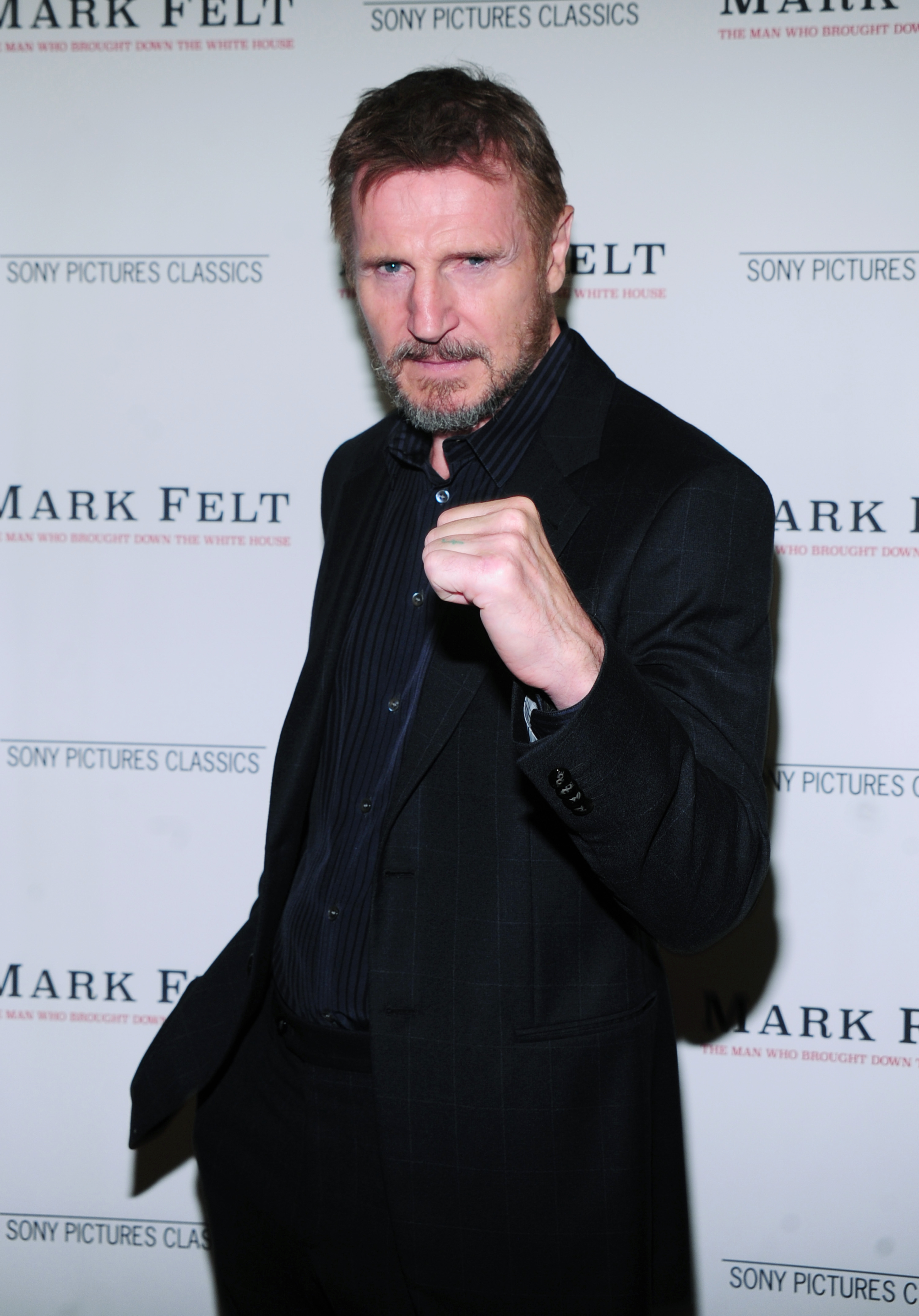 Liam Neeson'Mark Felt: The Man Who Brought Down the White House' film premiere, New York, USA - 21 Sep 2017