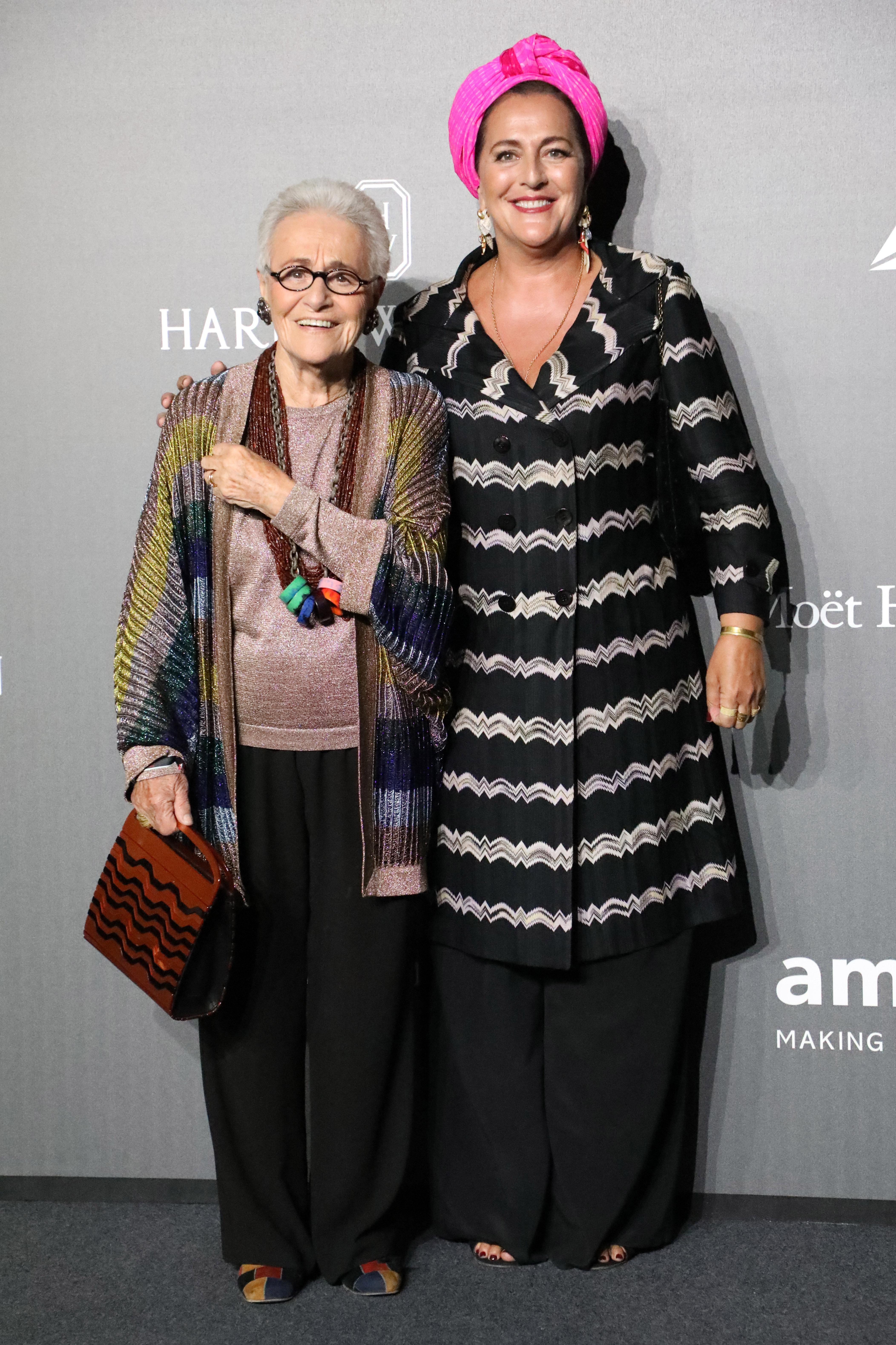 Rosita Missoni and Angela Missoni
