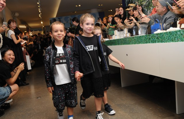 The Sacai kids' show at Colette