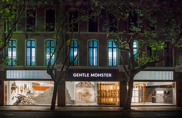 Gentle Monster's Shanghai flagship.