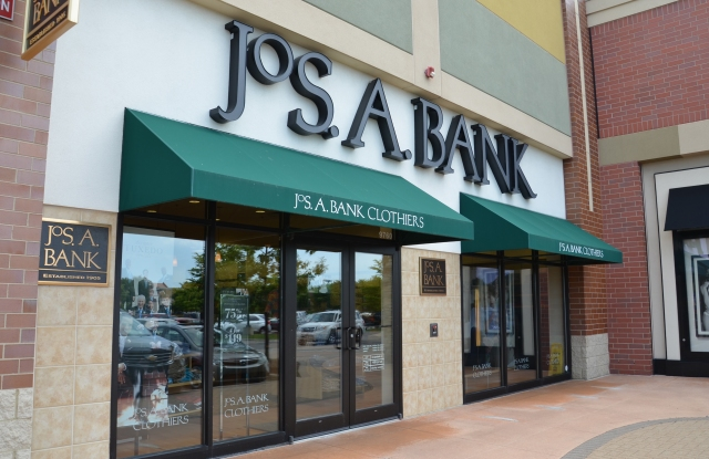 A Jos. A. Bank store.
