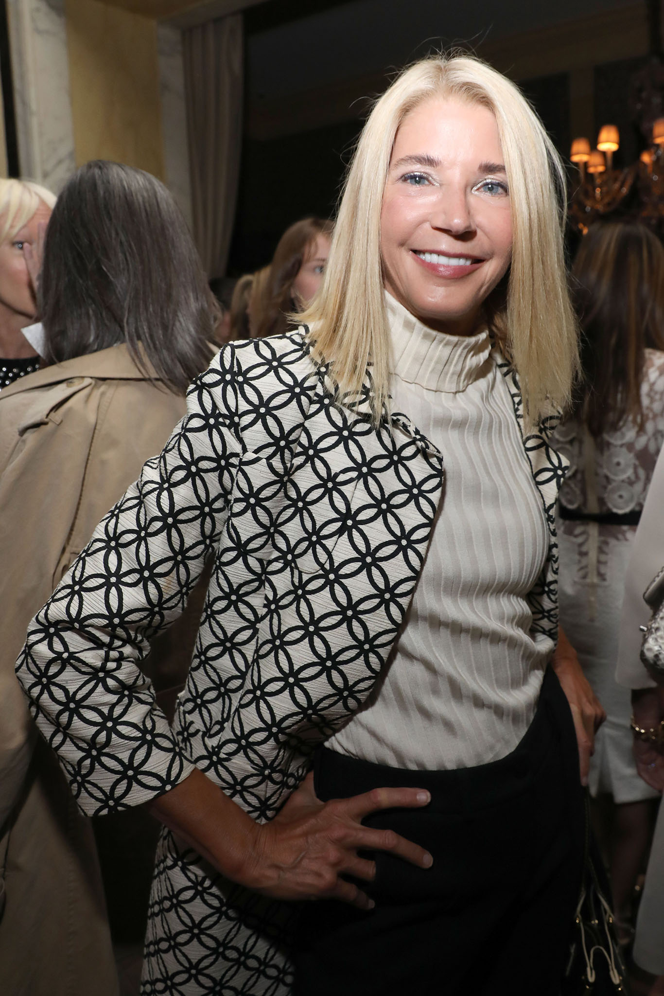 Candace BushnellT&C Modern Swans dinner, Spring Summer 2018, New York Fashion Week, USA - 10 Sep 2017