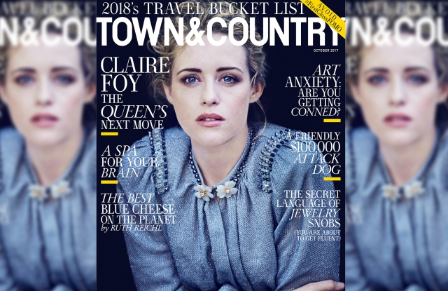 Claire Foy on T&C's October cover.