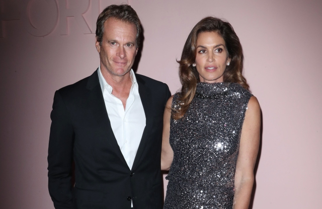 Randy Gerber and Cindy CrawfordTom Ford show, Spring Summer 2018, New York Fashion Week, USA - 06 Sep 2017