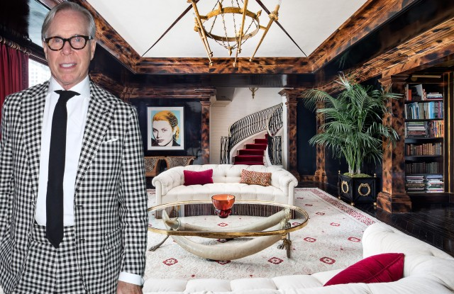 Tommy Hilfiger is trying to sell his Plaza Hotel penthouse at a discount.