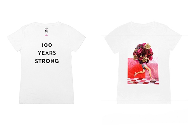 The Milly x Laurie Simmons T-shirt for Planned Parenthood.