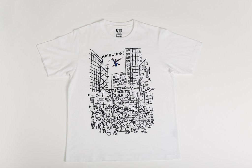 T-Shirt designed by Jason Polan for Uniqlo
