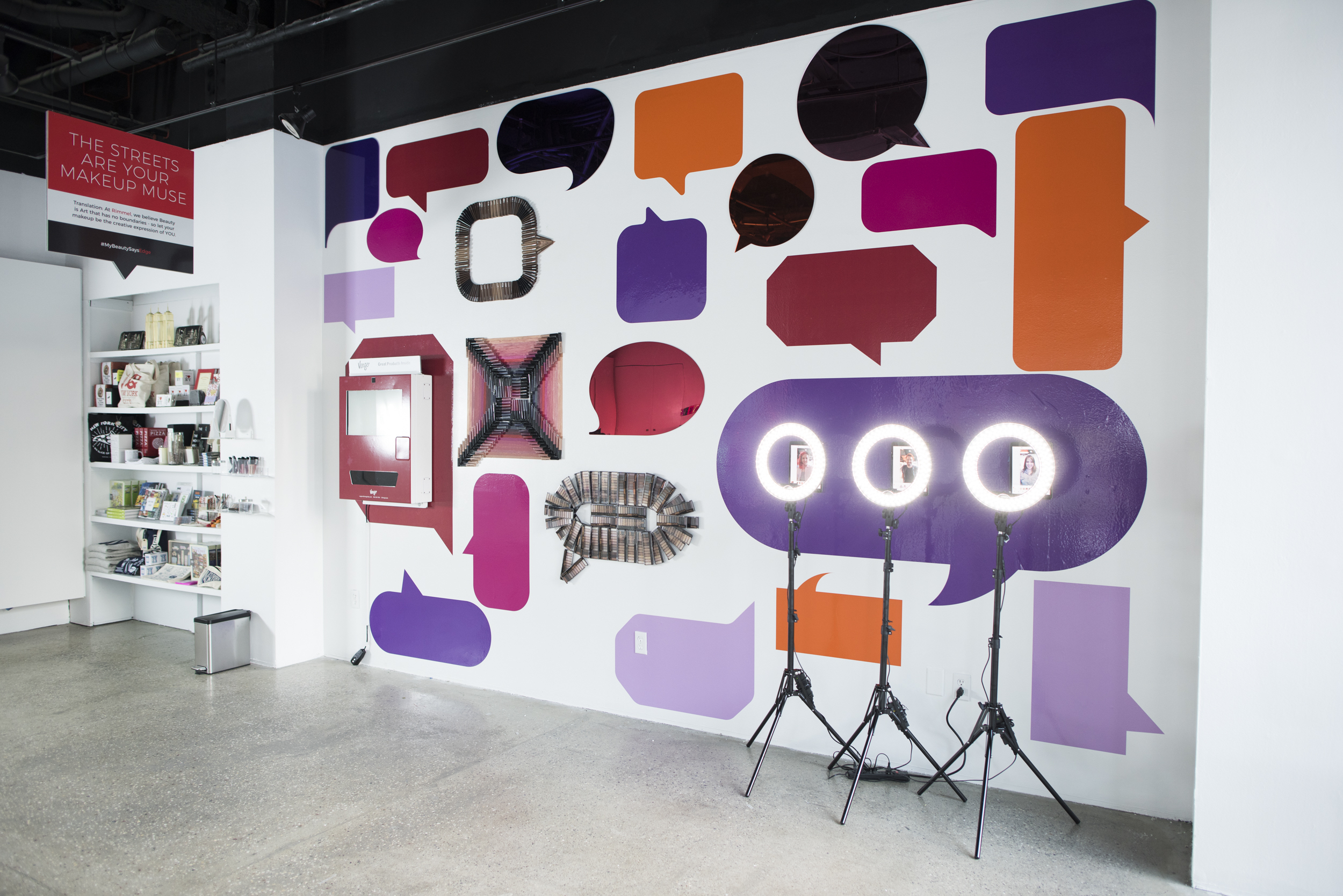 """Story's 35th installation and first """"Beauty Story,"""" a partnership with Coty Inc., runs through Oct. 15."""
