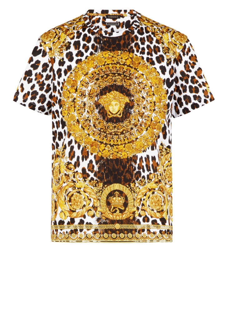 """A T-shirt from the """"Versace Tribute Collection"""""""