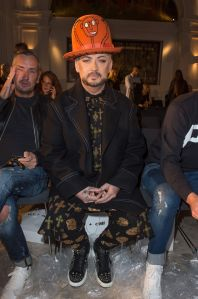 Boy GeorgeVin + Omi Fashion Show, London, UK - 12 Sept 2017