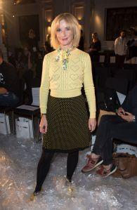 Jane HorrocksVin + Omi Fashion Show, London, UK - 12 Sept 2017