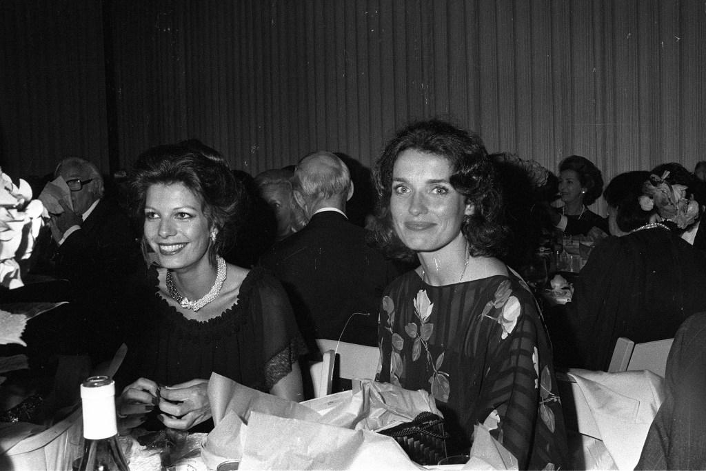 Yasmin Khan and Margaret Trudeau