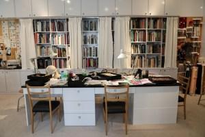 Yves Saint Laurent's design studio