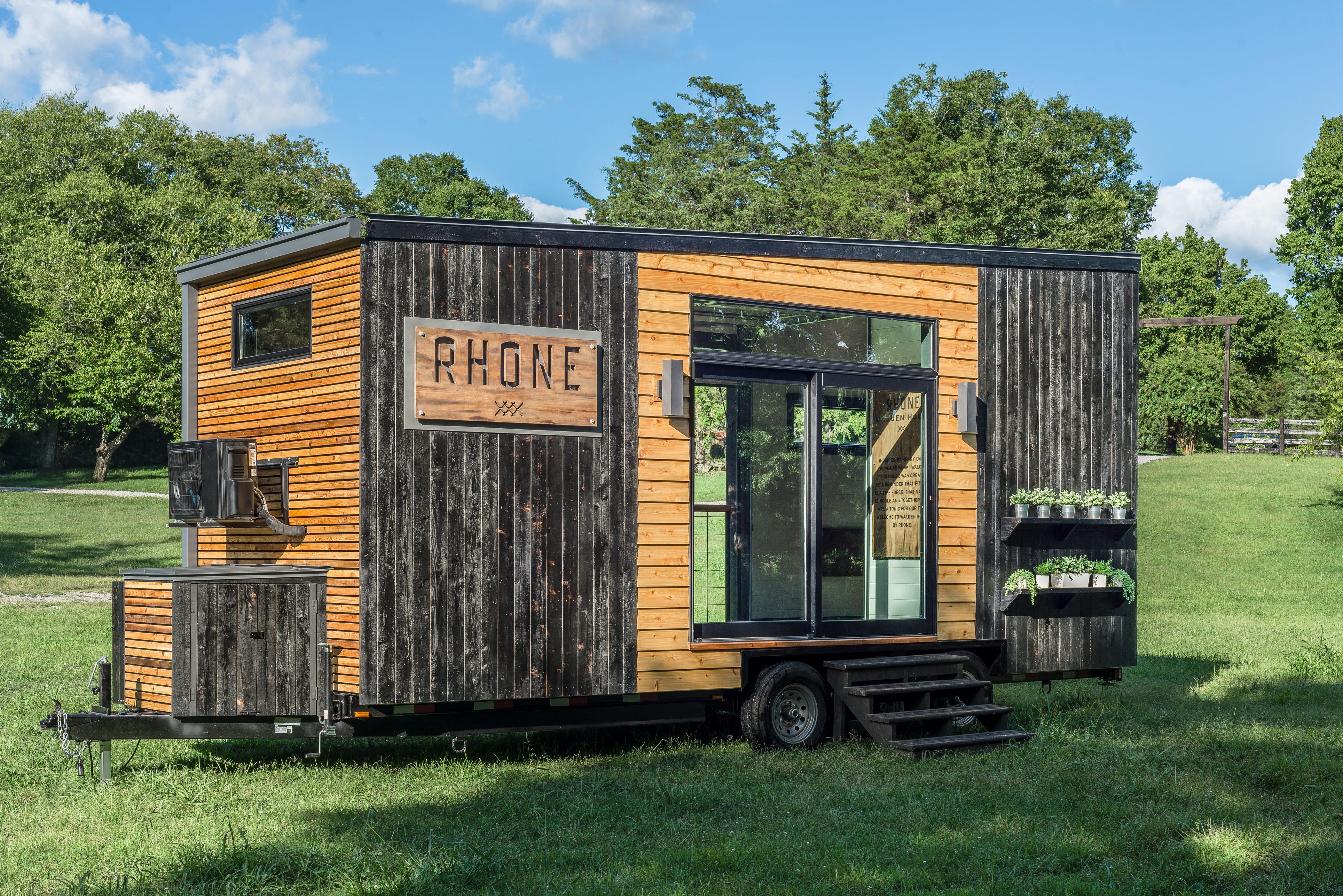Rhone's Walden House concept.