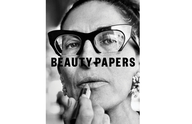The cover of Beauty Papers shot by Elliott Erwitt