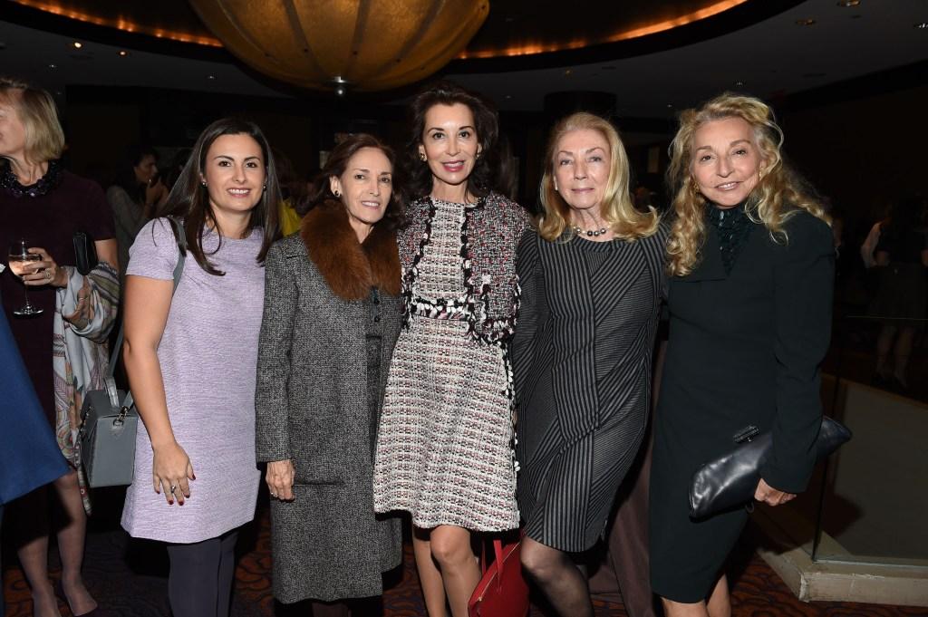 Paola Rivero, Annabelle Mariaca, Fe Fendi, Maureen Mulheren, Eleanora Kennedy