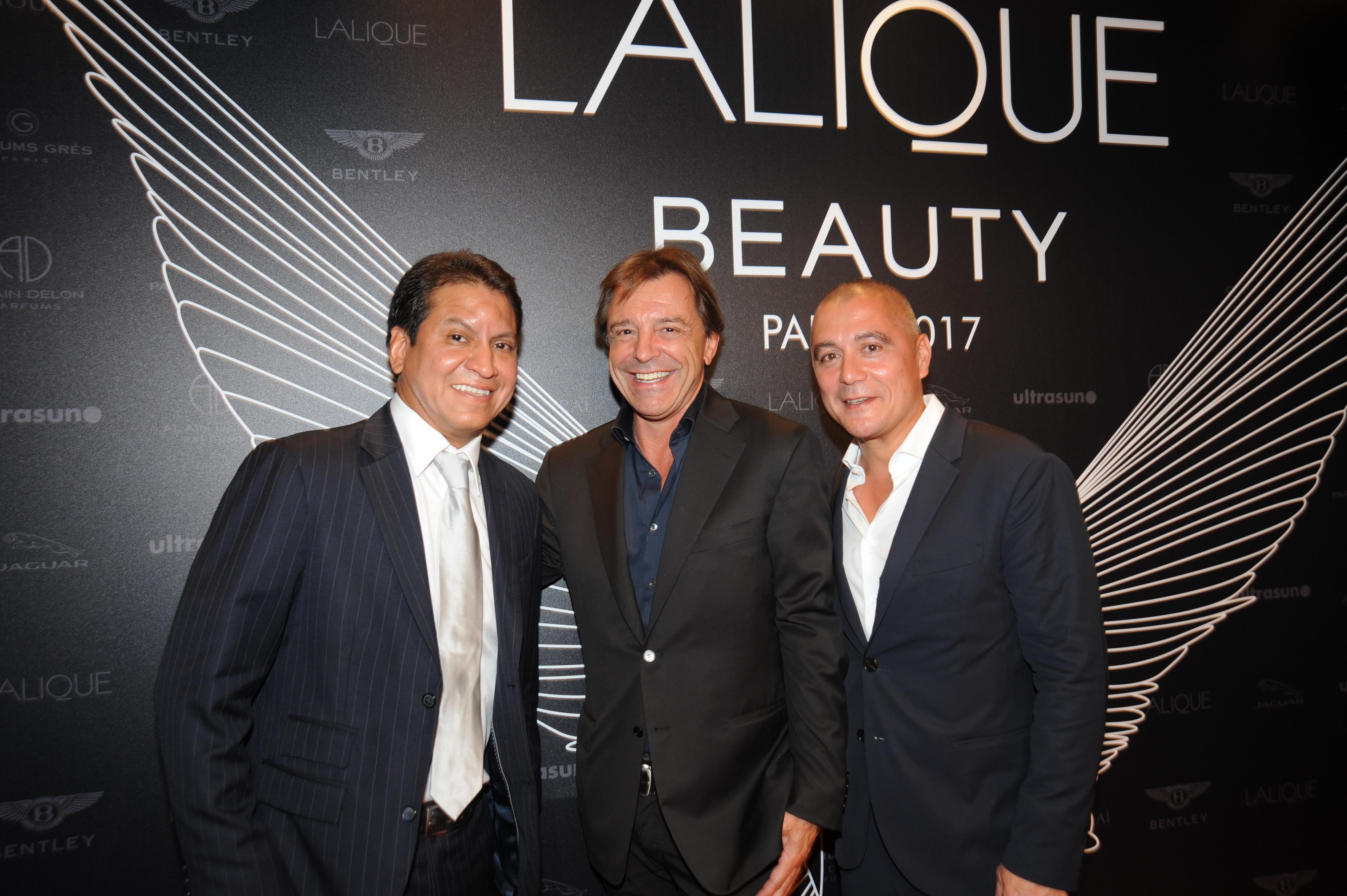 Lalique Group's David Rios, Silvio Denz and Roger von der Weid