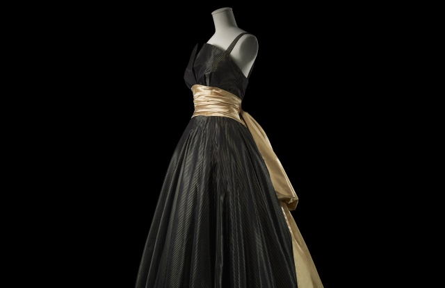 The evening gown from the Ailée, Autumn-Winter 1948 -1949 haute couture collection.