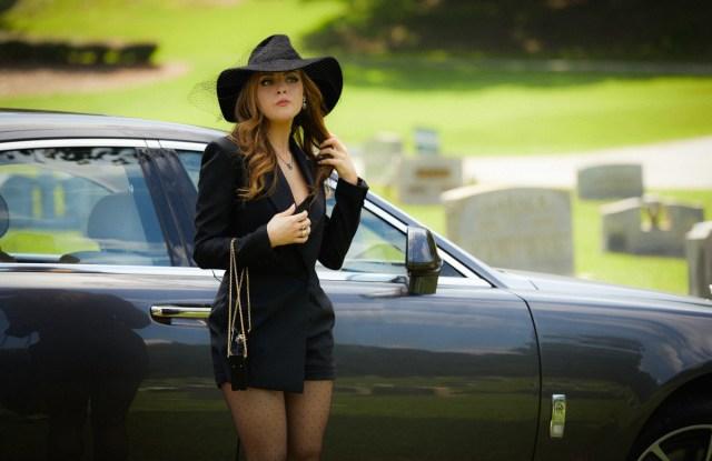 "Liz Gillies in ""Dynasty"""