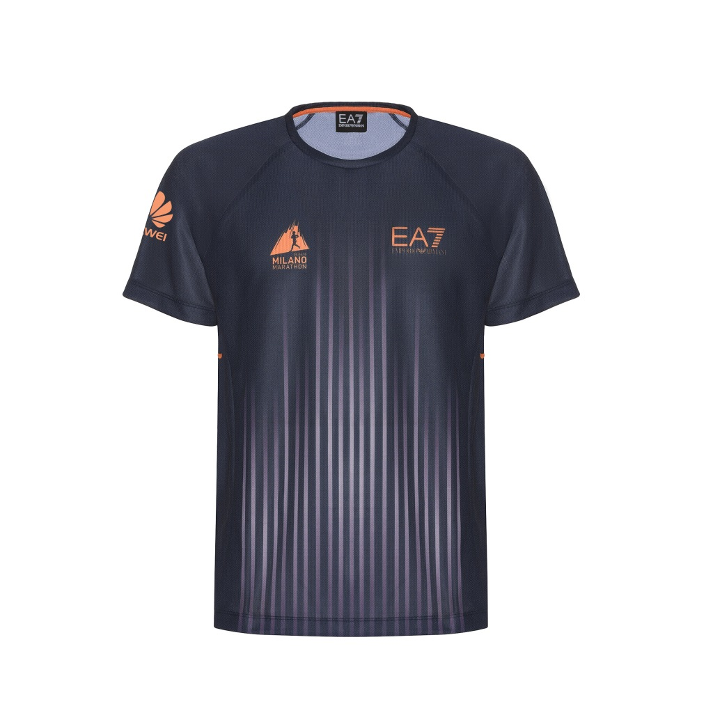 EA7 Emporio Armani T-shirt for Milano Marathon 2018.