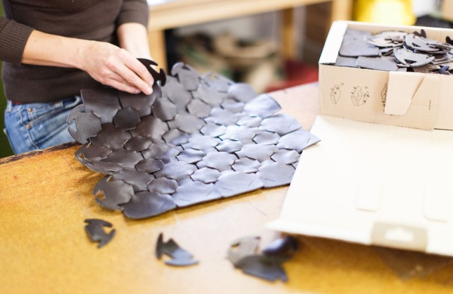 Burberry, Elvis & Kresse team on recycled leather project