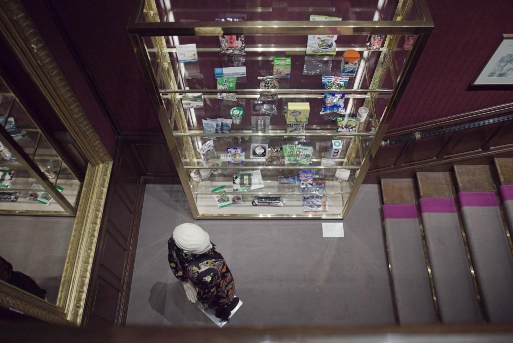 Dan Rees exhibition Etro's Bond Street boutique