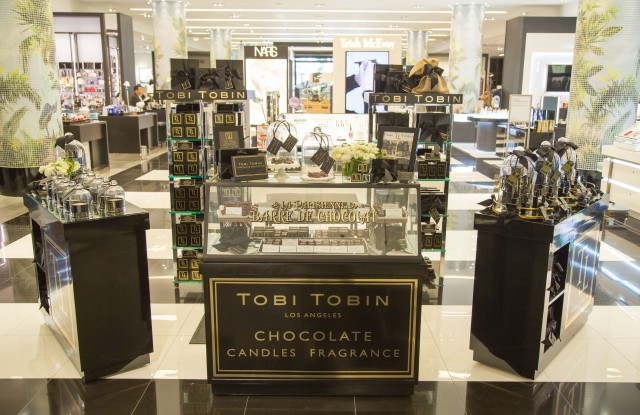 Tobi Tobin's shop-in-shop at Bloomingdale's.