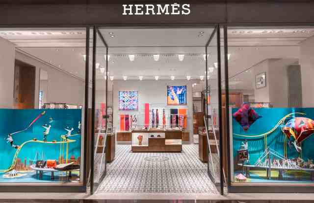 Hermès' first store in a mall in India, in New Delhi.