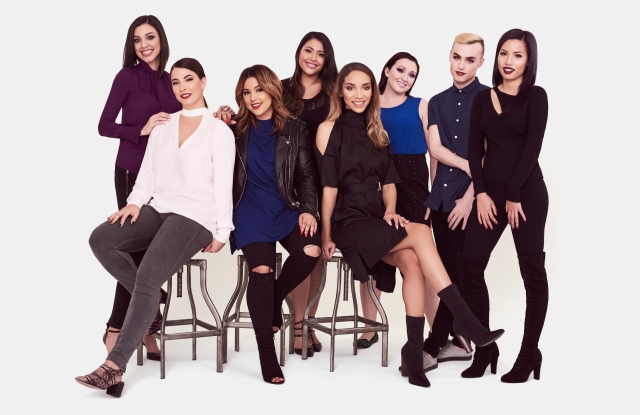 Eight influencers helped Maesa create Collab for Sally Beauty.