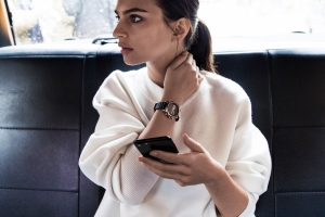 The DKNY Minute hybrid smartwatch