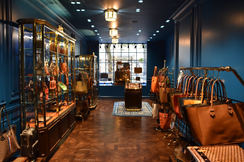 Moreau Paris store Bruton Street, London