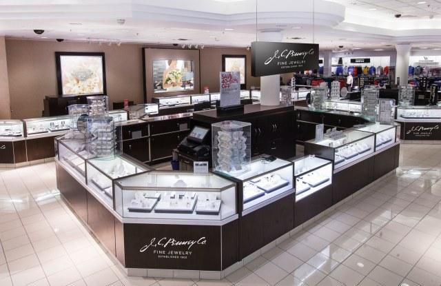 J.C. Penney's enhanced fine jewelry department.