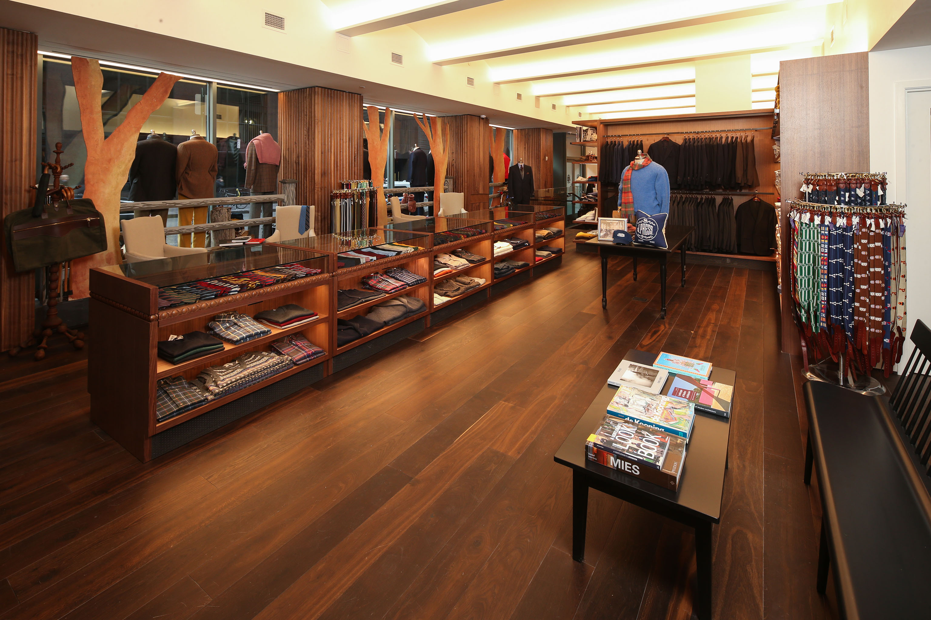 J. Press's new store is located at the Yale Club.