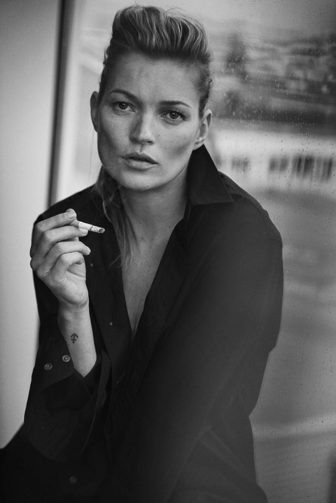 Kate Moss, Paris, 2014 Vogue Italia