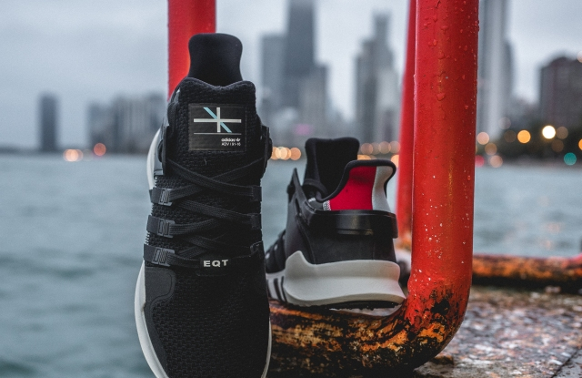 Adidas will sell 300 pairs of its EQT Support ADV Wicker Park in the new Chicago store.