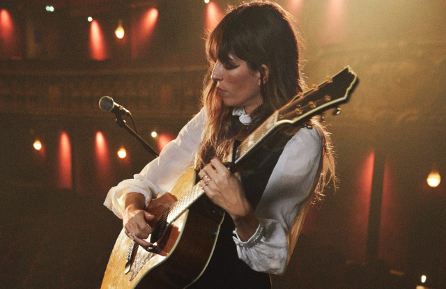Lou Doillon wearing & Other Stories.