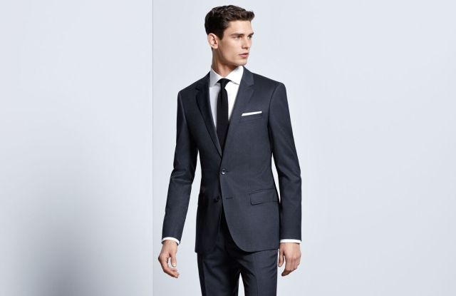 A Mix & Match suit from Hugo Boss.