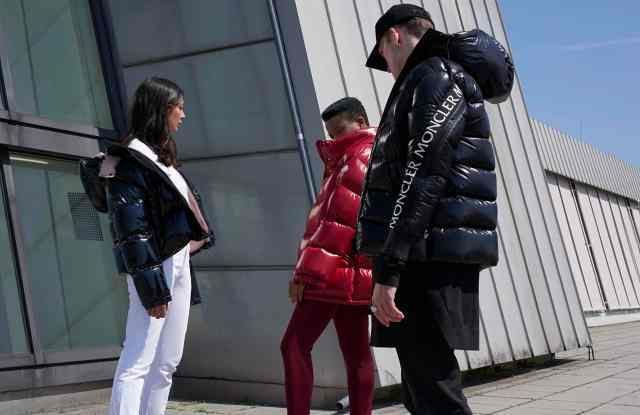 Looks from the Moncler x Stylebop collaboration