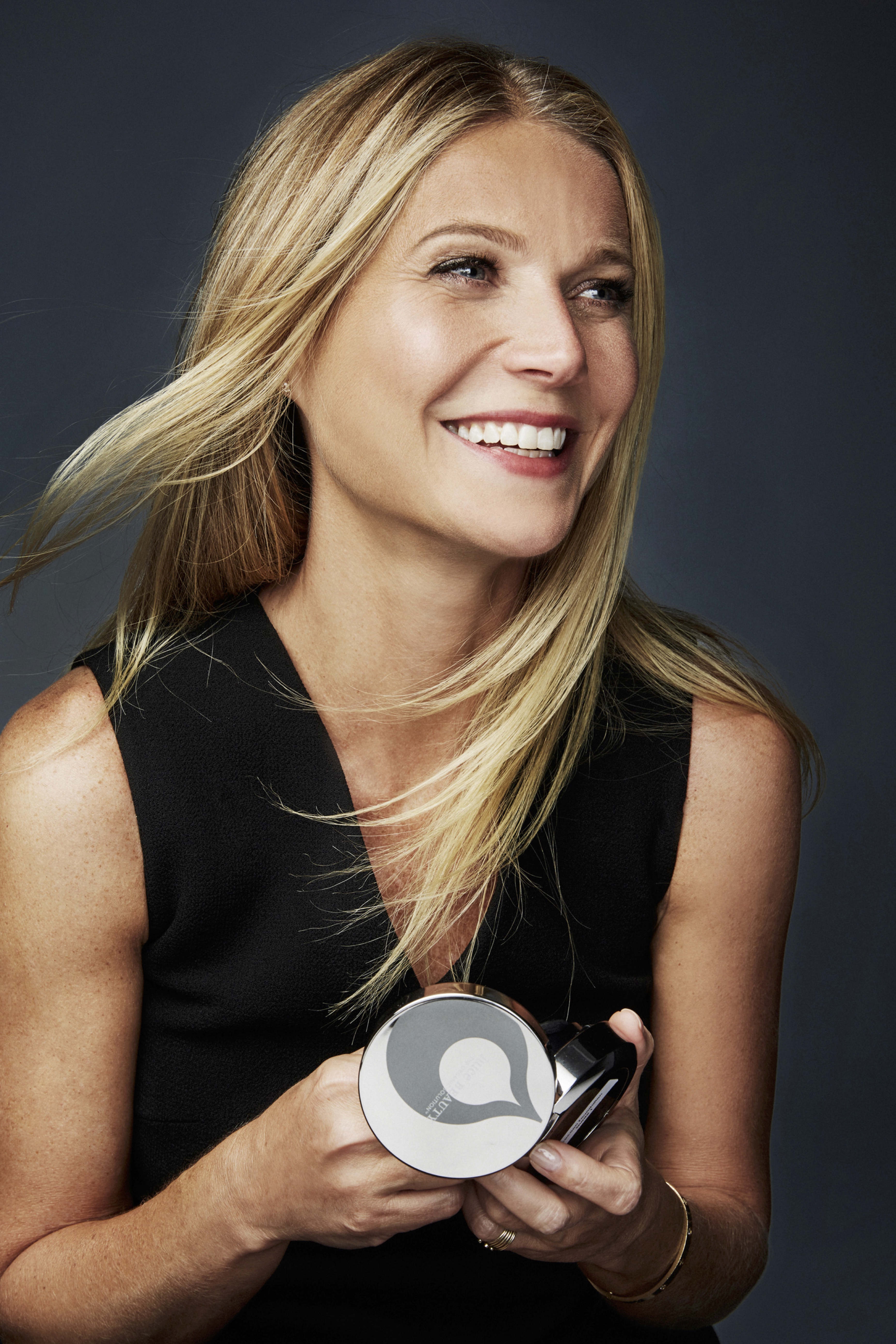 Gwyneth Paltrow is the creative director of makeup for Juice Beauty.