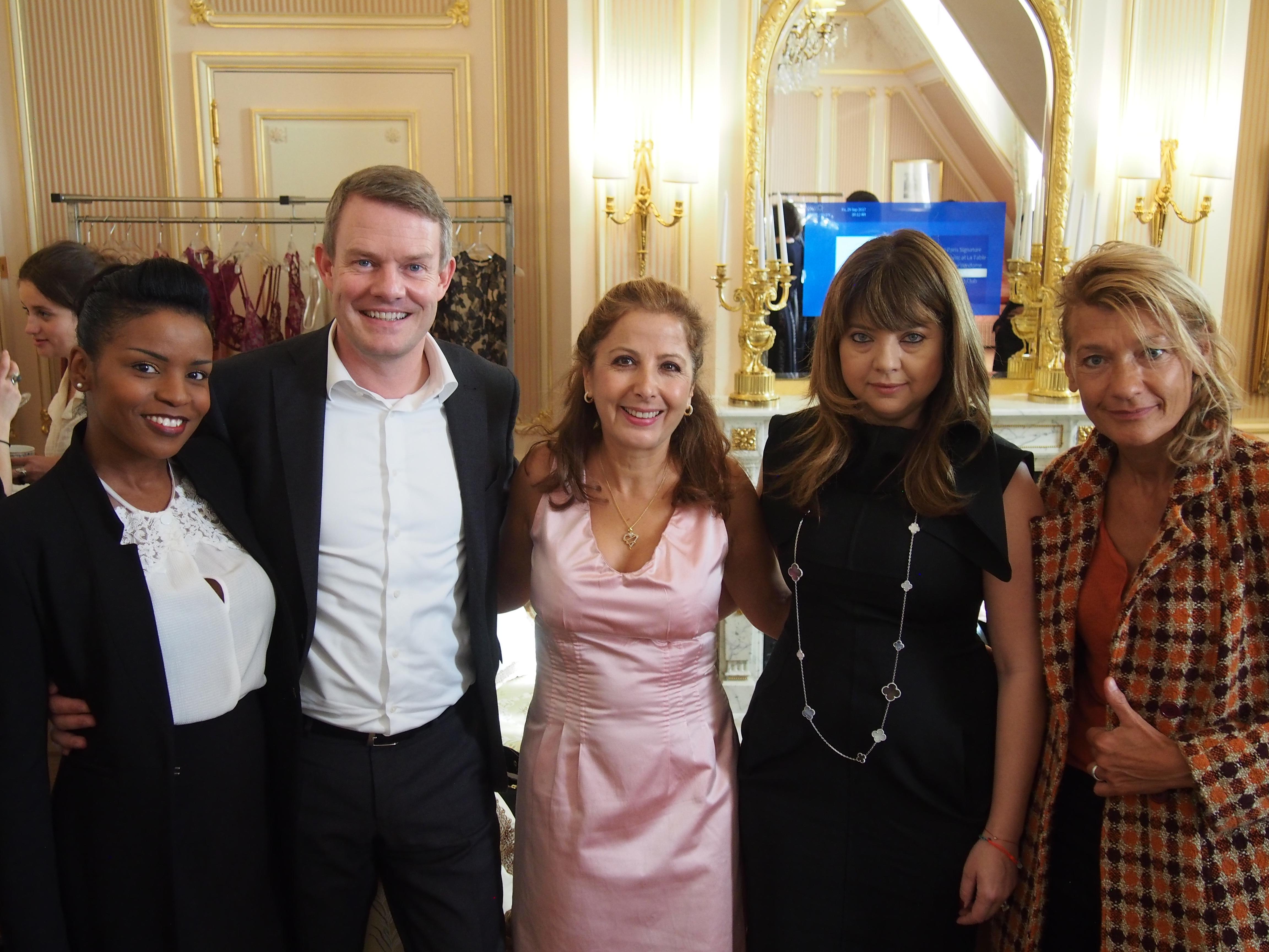Martine Geromegnace, Stephan Borchert, Karine Ohana, Iulia Dobrin and Frédérique Picard.